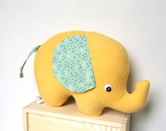 Extra Large Plush Elephant, Elephant Pillow, Stuffed Elephant Toy, Elephant Softie for Baby and Kids