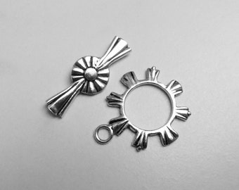 Larger Sterling Silver Toggle Clasp