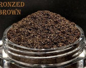 NEW Sampler Set - Bronzed Browns Assortment - Mineral Eye Colors - 10 Shades