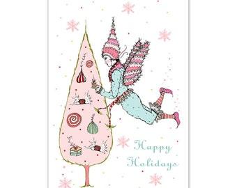 5- Sugar Plum Fairy Postard Set