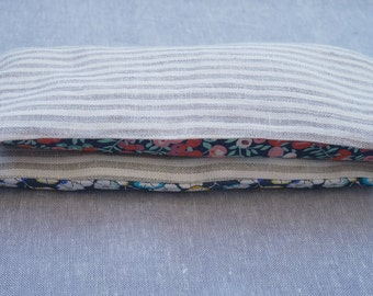 soothing lavender eye pillow - linen and liberty lawn