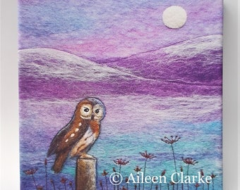 Owl Box Canvas Print