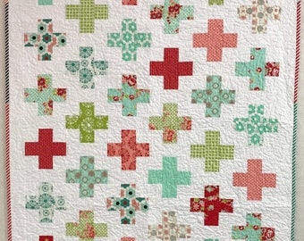 Absolutely Positively Vintage -  Cozy Quilt for your Cozy Home