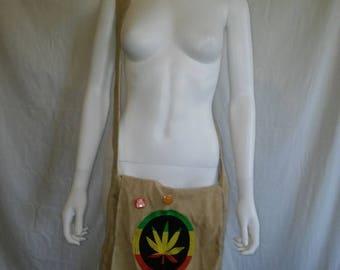 Closing Shop Sale 45% Off Pot Weed 420 Vintage 90s cross body bag purse