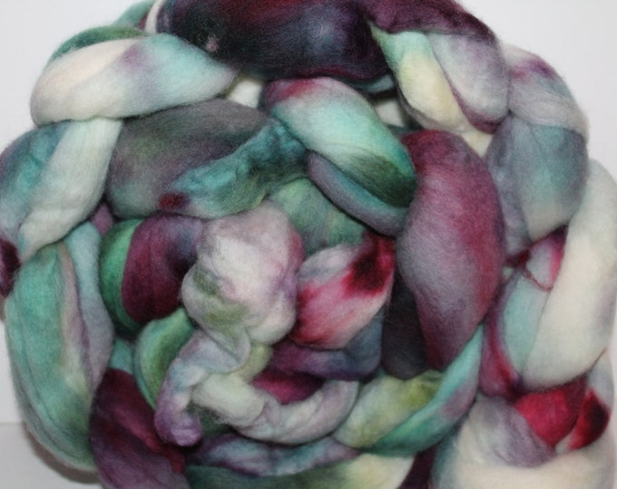Kette Dyed Polwarth wool top. Roving. Spin. Felt. Super Soft. 1lb. FREE SHIP #P15