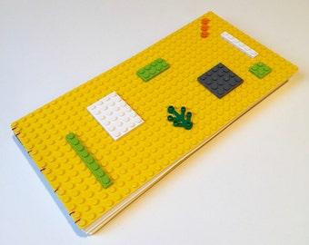 Medium Coptic Bound Book with a Build Your Own Cover - Yellow Covers