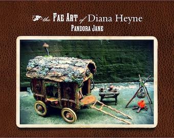 Fae Art 2018 Calendar, faery miniatures calendar, 2018 calendar, Diana Heyne art