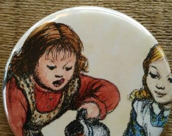 Little House on the Prairie Pocket Mirror