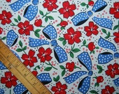 Feedsack fabric bows Glenna Hailey quilter apron fabric P and B Textiles