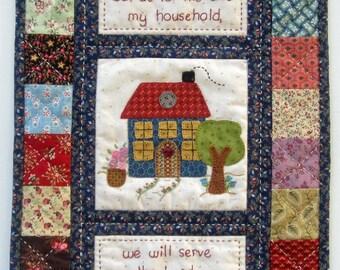 My House - pdf pattern