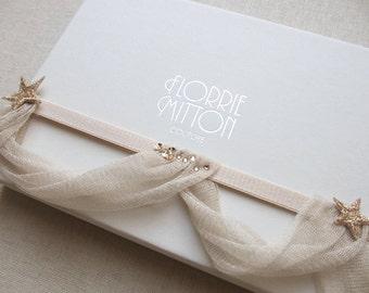 Starlet rose gold wedding garter with swarovski crystals, silk wedding garter, rose gold wedding garter, rose gold, rose gold bridal shower