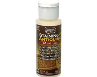DecoArt Staining and Antiquing Medium 2 Ounce Bottle