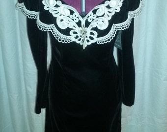 Vintage Scott McClintock 80s Dress NWT Size 8