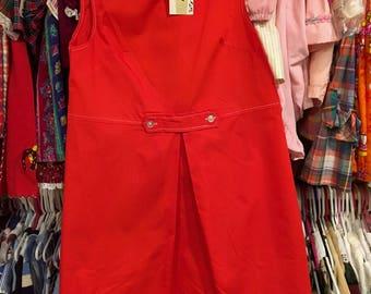 1960s NOS Girls Dress 10/12