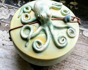 Ceramic Octopus Wish Pot
