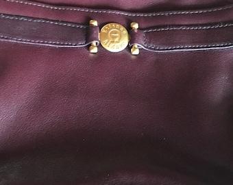 1980s Etienne aigner handbag vintage adjustable strap