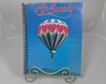 "Air Supply ""The One that You Love"" Original Record Album Cover Notebook"