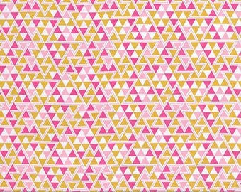 Hygge fabric, Geometric fabric, Tribal Fabric, Wander fabric, Rustic Home Decor, Southwestern Decor, Triangles in Rosetta - Choose the cut