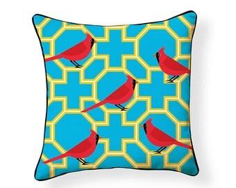 Red Cardinal Pillow
