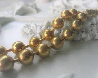 Gold Ball Chain 9 5 mm Brass Ball Chain Item No. 3286