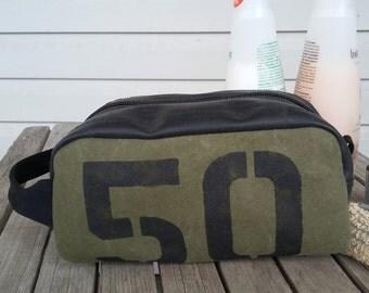 Toiletries Bag - Travel Bag - Dopp Kit - Dopp Bag - Wash Bag