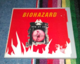"Vintage 1994 Biohazard ""How it is"" CD Brooklyn Metal Band Heavy Metal 90s Metal CDs Free Shipping"