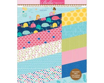"Secrets Of The Sea Girl Bella Blvd Paper Pad 6""X8"" (SOS1634)"