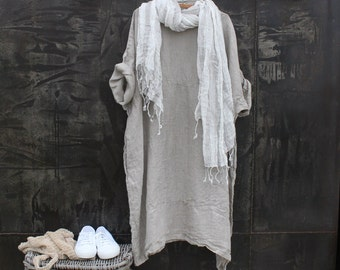 Summer Light Linen Dress