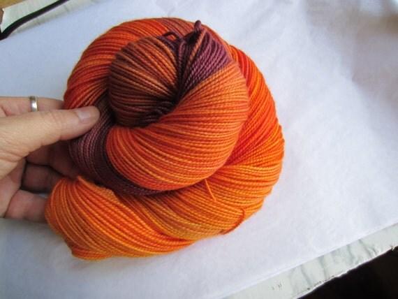 Desert Sunset - Dyed to Order - Hand Dyed - Merino Wool Yarn - Fingering Weight