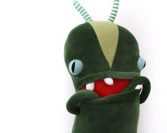 """Monster Plush Stuffed """"Lucky"""" Mini Pocket Cotton Monster"""