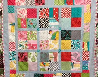 Minkee Baby/Lap Finished Quilt