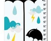 custom umbrella growth chart