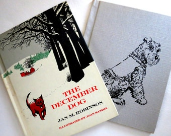 Sale - Vintage Dogs Books - December - Vintage Children's Books - Dog Stories -  Retro Kids - Used Books