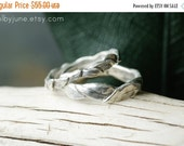 40% Off Sale Silver Small Leaf Ring | Stacking Ring | Nature Inspired Ring