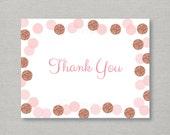 Glitter Thank You Card / ...