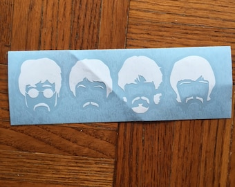 The Beatles Vinyl Decal for Car, Laptop, Tumbler, Yeti, or Decor