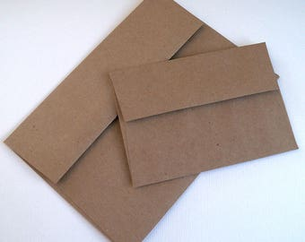 A1 or A2 Grocery bag envelopes, 10