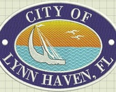 Lynn Haven Custom Digitized Embroidery Design (private listing)