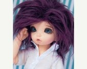 15% OFF Akasarushi Imperial Purple Color Fur Wig Made for abjd doll size SD MSD tiny yosd and puki