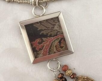 Paisley Pendant Necklace