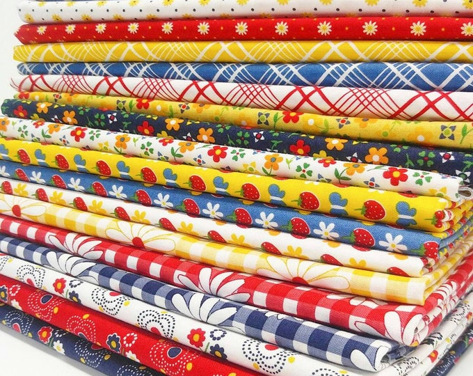 Featured listing image: Gingham Girls by Amy Smart - half yard Bundle - Complete set
