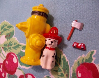 fire hydrant trinket box