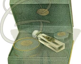 Printable Beauty Papercraft Download Crafting Digital Vintage Scrapbooking Perfume Clip Art
