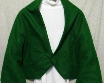 Medium Green Shawl, Bed Jacket, or Reading Shawl - Cold Office / Warm Shawl