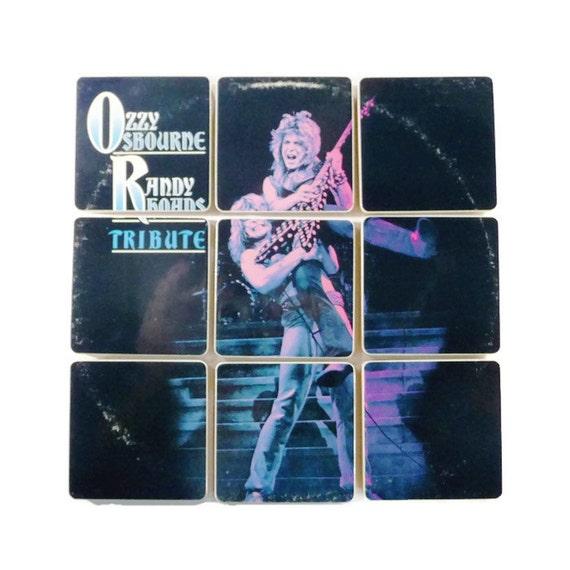 Ozzy Osbourne Recycled Randy Rhoads Tribute Album Cover