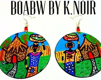 Nzuri Kijiji Earrings