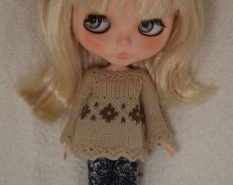 BLYTHE  SWEATER/JUMPER, Blythe outfit, Blythe clothes, Blythe knitted