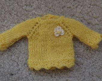 BLYTHE  SWEATER/JUMPER, Blythe outfit, Blythe clothes, Blythe knitted Dress