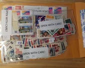 Postcards to Voters 35 cent vintage stamp combos // 2 large stamp (each one 1 x 1.5 inch) combos.