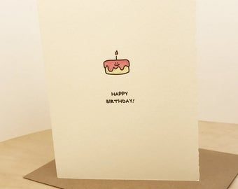 Happy Birthday Card Cute Birthday Wishes Nice Sweet for Her Mom Sister Friend Adorable Edge Made in Canada Toronto Wholesale Kids Baking